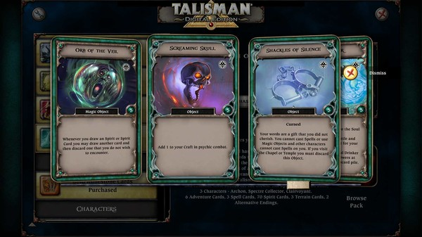 скриншот Talisman - Realm of Souls Expansion 0