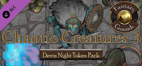 Fantasy Grounds - Devin Night Pack 107: Chaotic Creatures 3 (Token Pack)