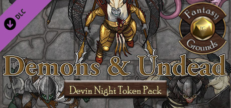 Fantasy Grounds - Devin Night Pack 106: Demons & Undead (Token Pack)