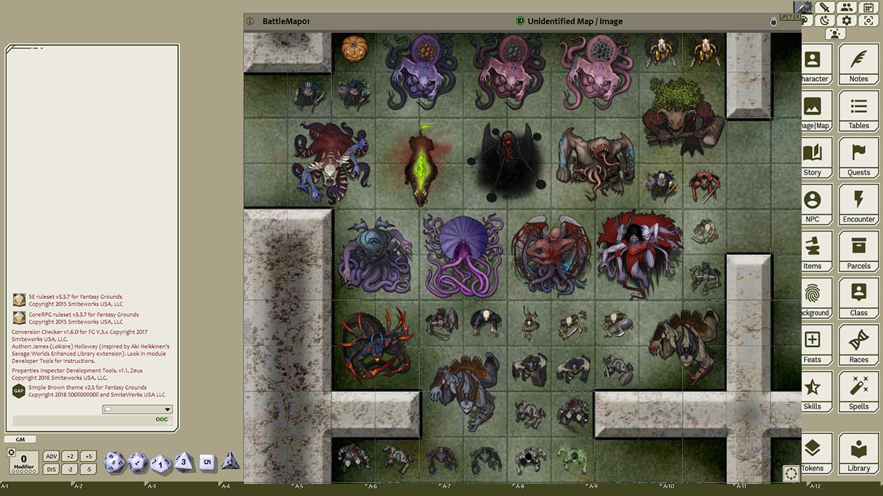 Fantasy Grounds - Devin Night Pack 106: Demons & Undead (Token Pack)