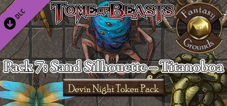 Fantasy Grounds - Devin Night Pack Tome of Beasts pack 7 (Token Pack)