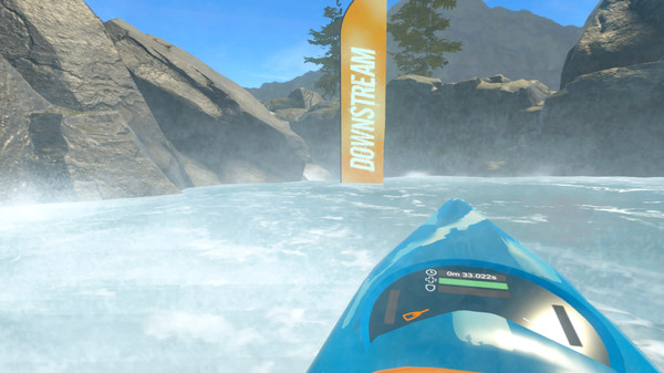 DownStream: VR Whitewater Kayaking
