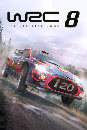WRC 8 FIA World Rally Championship poster image on Steam Backlog