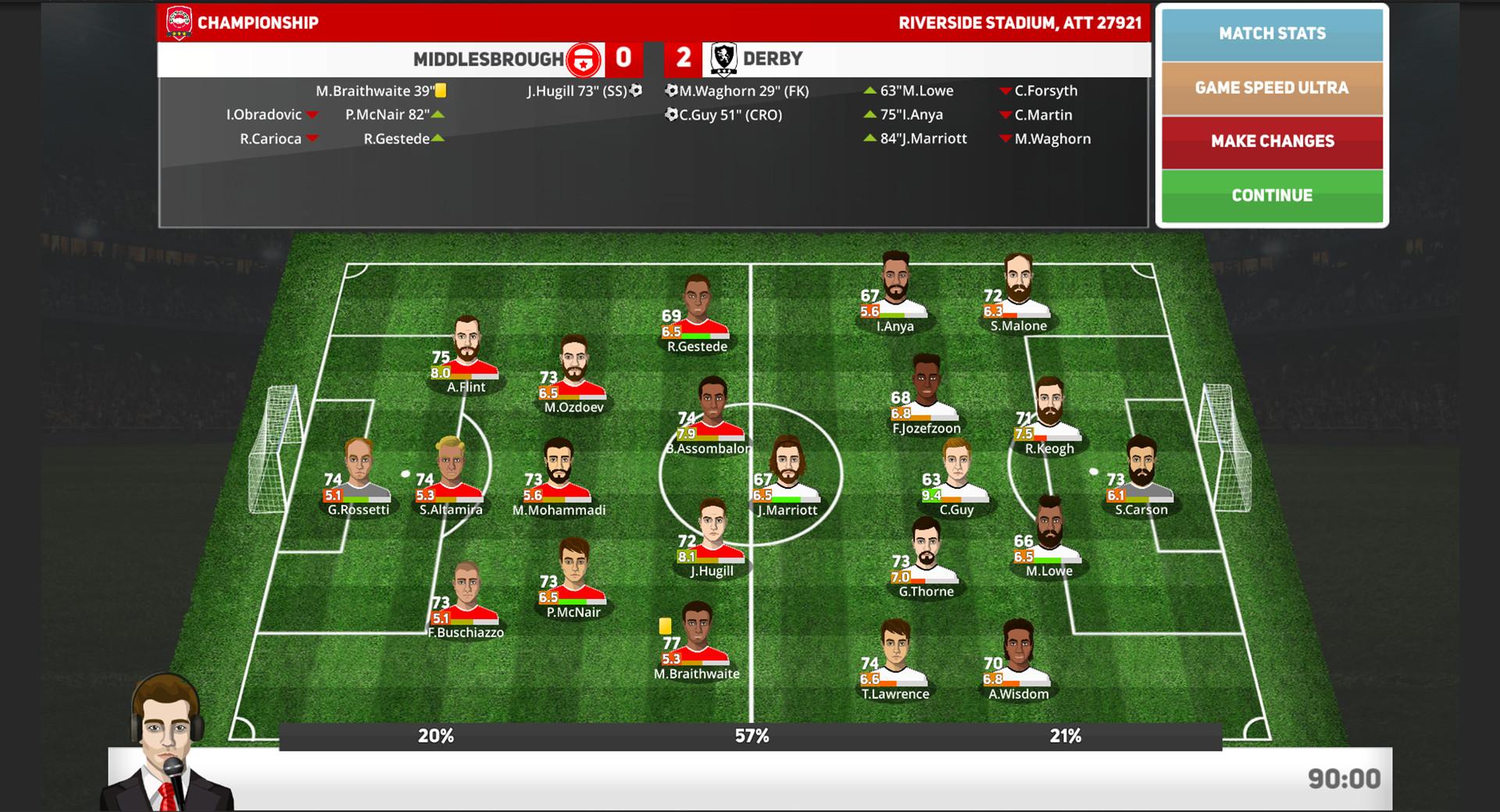 Club Soccer Director PRO 2020 on Steam