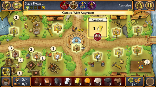 Agricola Revised Edition Screenshot