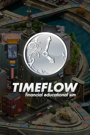 Timeflow – Time and Money Simulator poster image on Steam Backlog