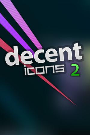 Decent Icons 2 poster image on Steam Backlog