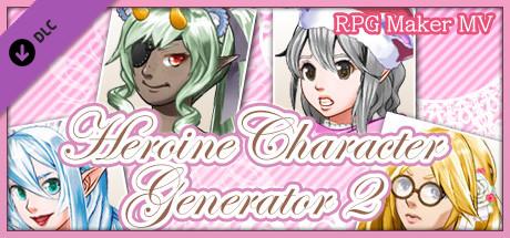 Download Games RPG Maker MV - Heroine Character Generator 2