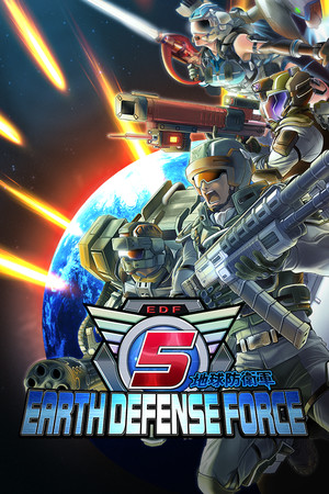 EARTH DEFENSE FORCE 5 poster image on Steam Backlog