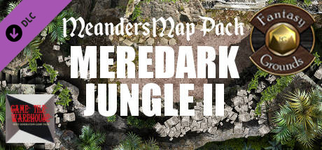 Fantasy Grounds - Meanders Map Pack: Meredark Jungle II (Map Pack)