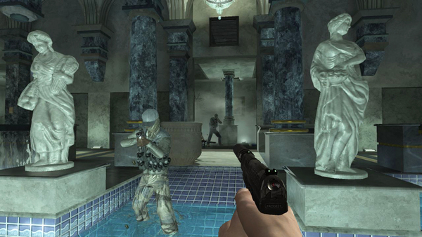 Скриншот из Quantum of Solace