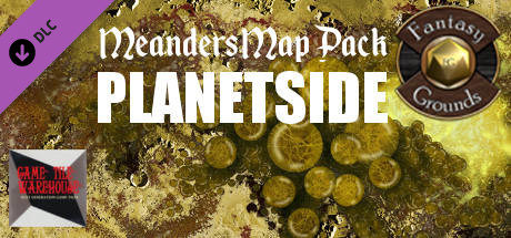 Fantasy Grounds - Meanders Map Pack: Planetside (Map Pack)