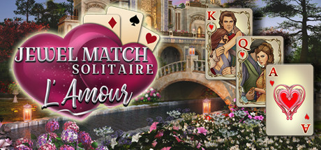 Jewel Match Solitaire L'Amour cover art