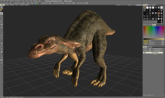 Скриншот из 3DCoat