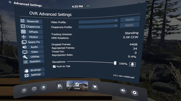скриншот OVR Advanced Settings 1