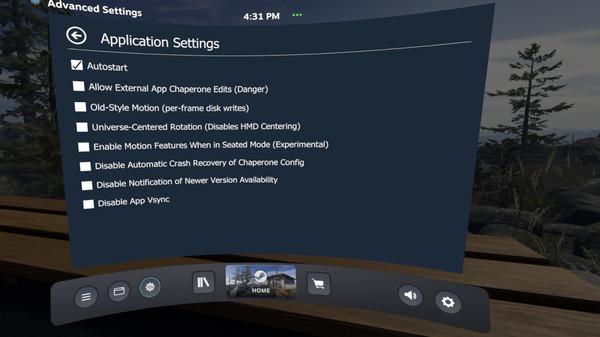 скриншот OVR Advanced Settings 4