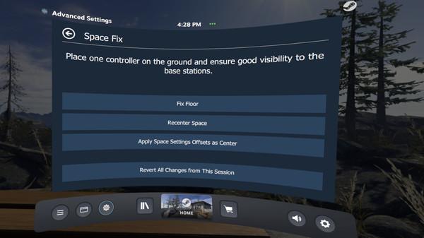 скриншот OVR Advanced Settings 2