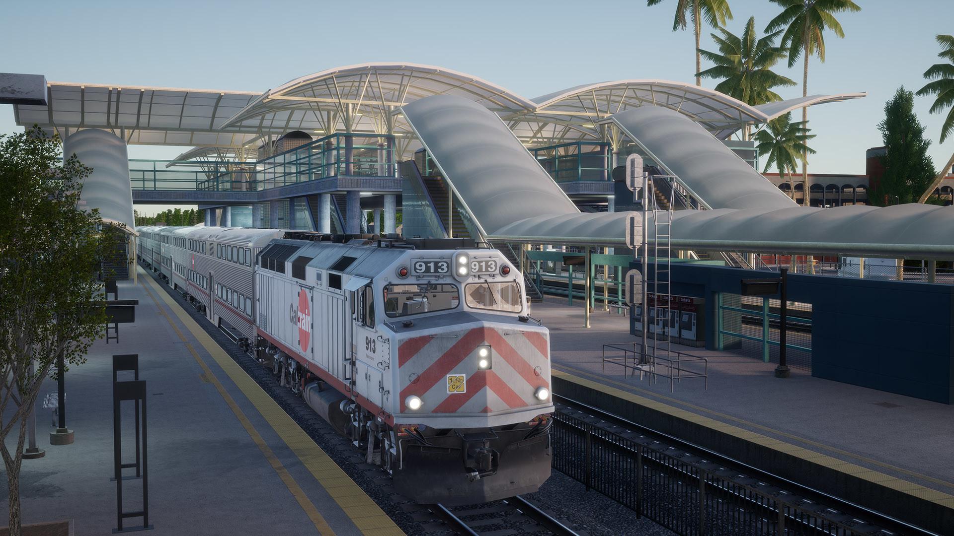 Train Sim World®: Peninsula Corridor: San Francisco - San Jose Route Add-On