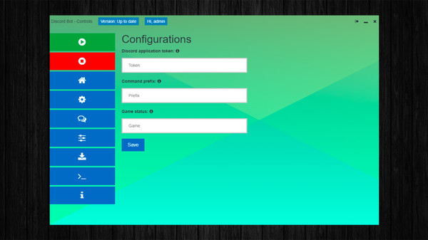 Скриншот из Discord Bot - Controls