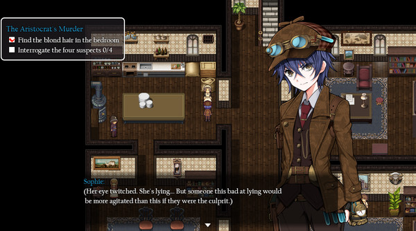 Screenshot of Detective Girl of the Steam City