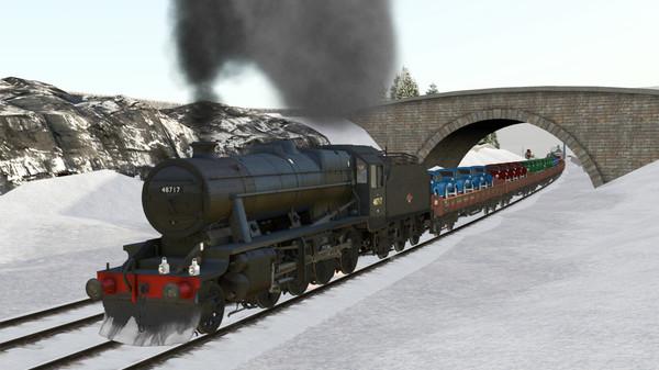 скриншот Train Simulator: LMS Stanier Class 8F Steam Loco Add-On 5