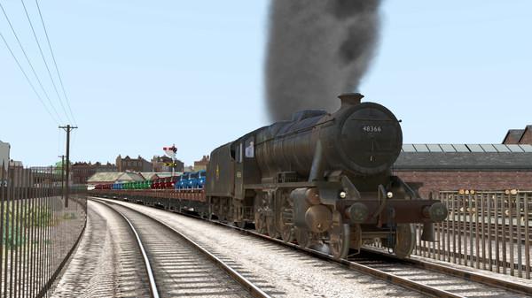 скриншот Train Simulator: LMS Stanier Class 8F Steam Loco Add-On 1
