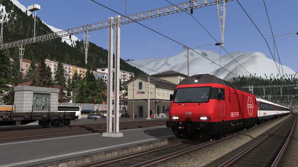 скриншот Train Simulator: Gotthardbahn Alpine Classic: Erstfeld – Bellinzona Route Add-On 2