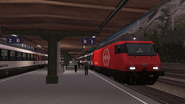 скриншот Train Simulator: Gotthardbahn Alpine Classic: Erstfeld – Bellinzona Route Add-On 3