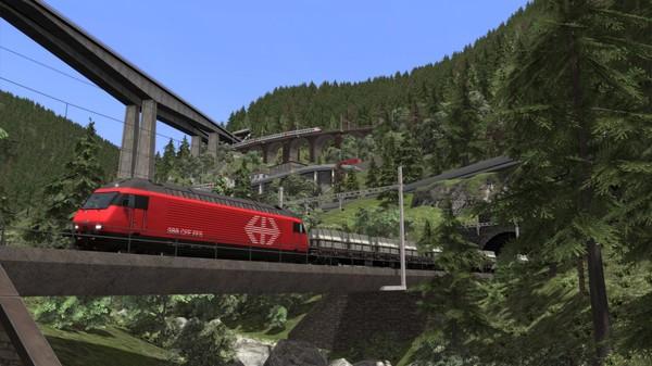 скриншот Train Simulator: Gotthardbahn Alpine Classic: Erstfeld – Bellinzona Route Add-On 0