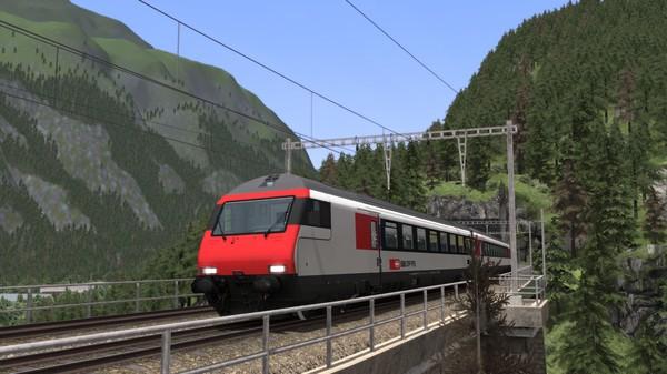скриншот Train Simulator: Gotthardbahn Alpine Classic: Erstfeld – Bellinzona Route Add-On 5