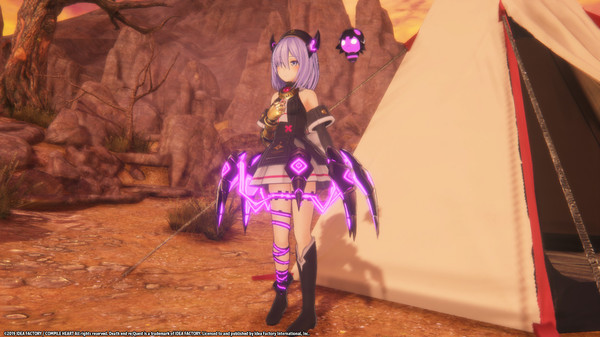 Death end re;Quest Alternate Costume Set (DLC)