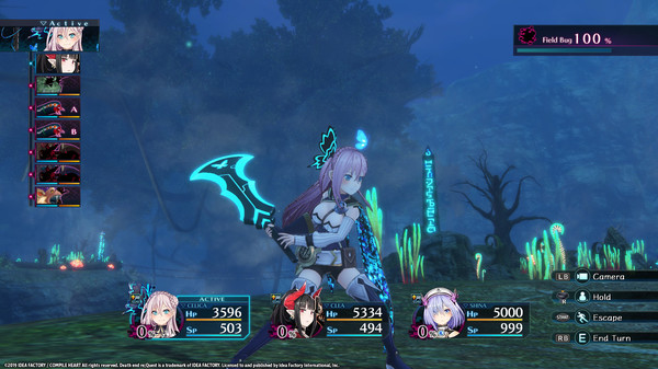 Death end re;Quest Rook's Warrior Set (DLC)