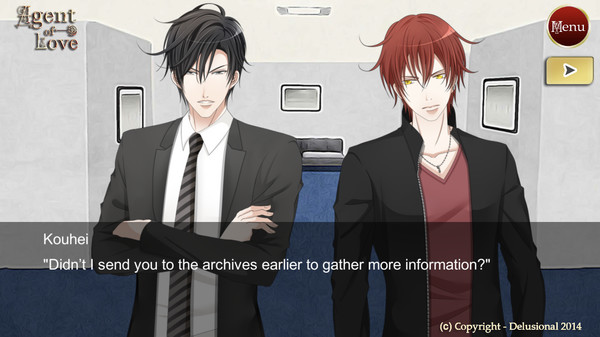 Agent Of Love - Josei Otome Visual Novel