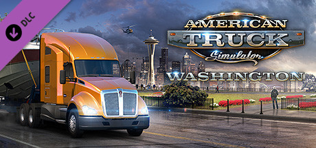 American Truck Simulator Washington PROPER-PLAZA