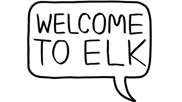 Welcome to Elk logo