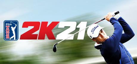 PGA TOUR 2K21 cover art