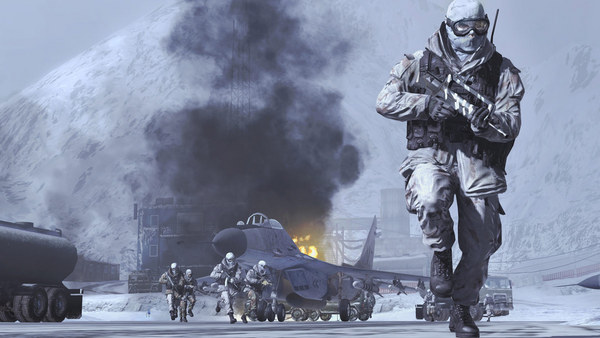 Скриншот из Call of Duty: Modern Warfare 2