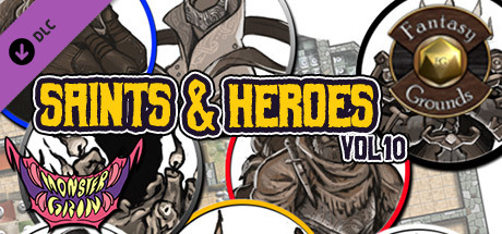 Fantasy Grounds - Saints and Heroes, Volume 10 (Token Pack)