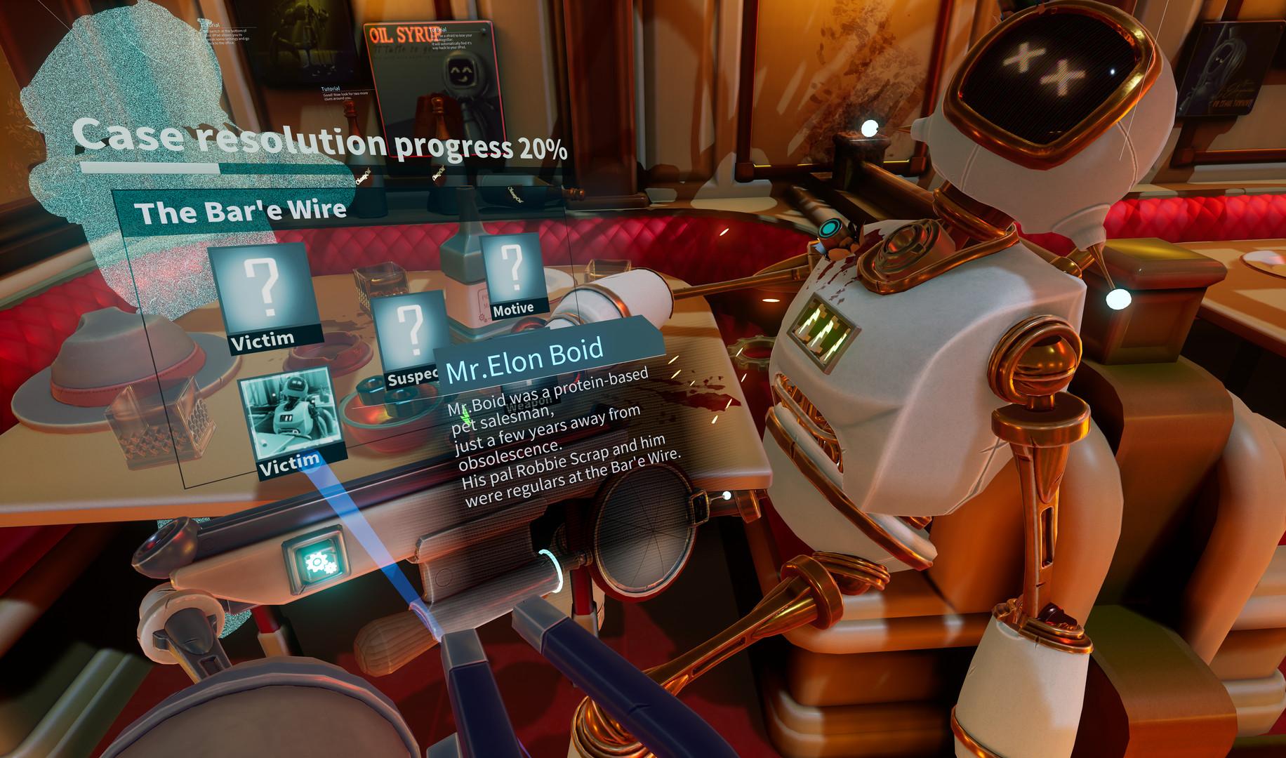 Mr Hack Jack: Robot Detective