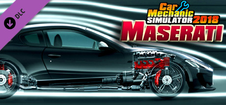 Car Mechanic Simulator 2018 - Maserati REMASTERED DLC