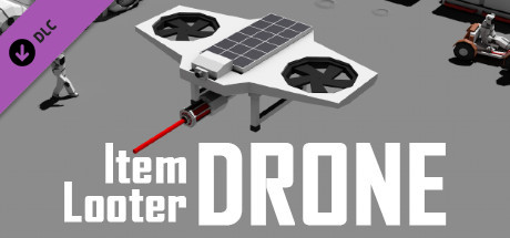 Away From Earth: Moon - Flyable Item Looter Drone