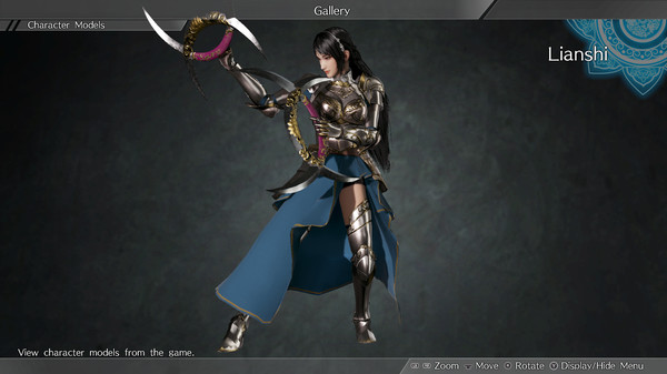 "DYNASTY WARRIORS 9: Lianshi ""Knight Costume"" / 練師「騎士風コスチューム」 (DLC)"