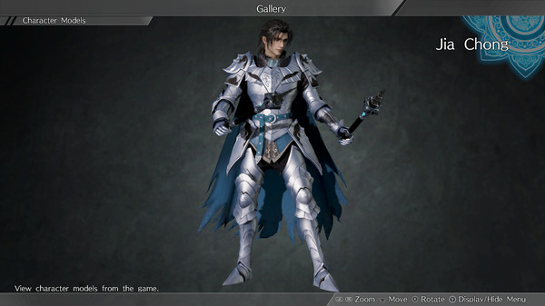 "DYNASTY WARRIORS 9: Jia Chong ""Knight Costume"" / 賈充「騎士風コスチューム」 (DLC)"
