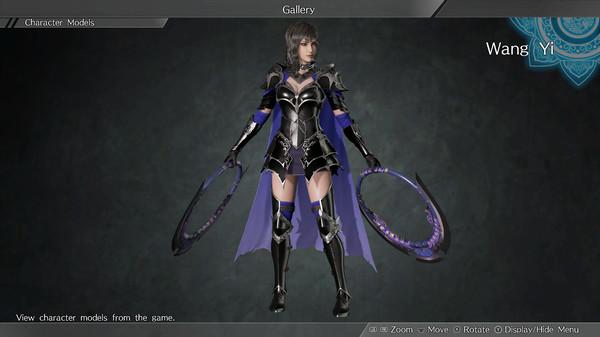 """DYNASTY WARRIORS 9: Wang Yi """"Knight Costume"""" / 王異「騎士風コスチューム」 (DLC)"""