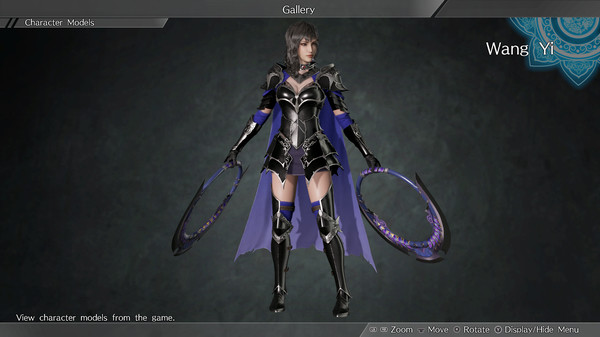"DYNASTY WARRIORS 9: Wang Yi ""Knight Costume"" / 王異「騎士風コスチューム」 (DLC)"
