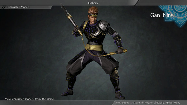 "DYNASTY WARRIORS 9: Gan Ning ""Samurai Costume"" / 甘寧「武者風コスチューム」 (DLC)"