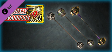"""DYNASTY WARRIORS 9: Additional Weapon """"Tempest Mace"""" / 追加武器「昊転錘」"""