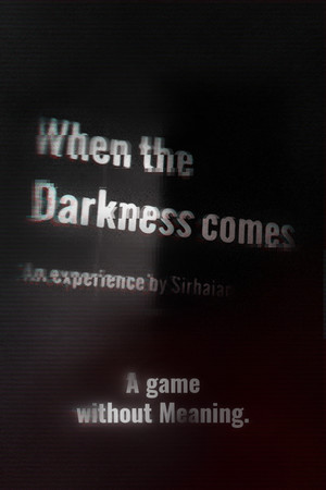 When the Darkness comes poster image on Steam Backlog