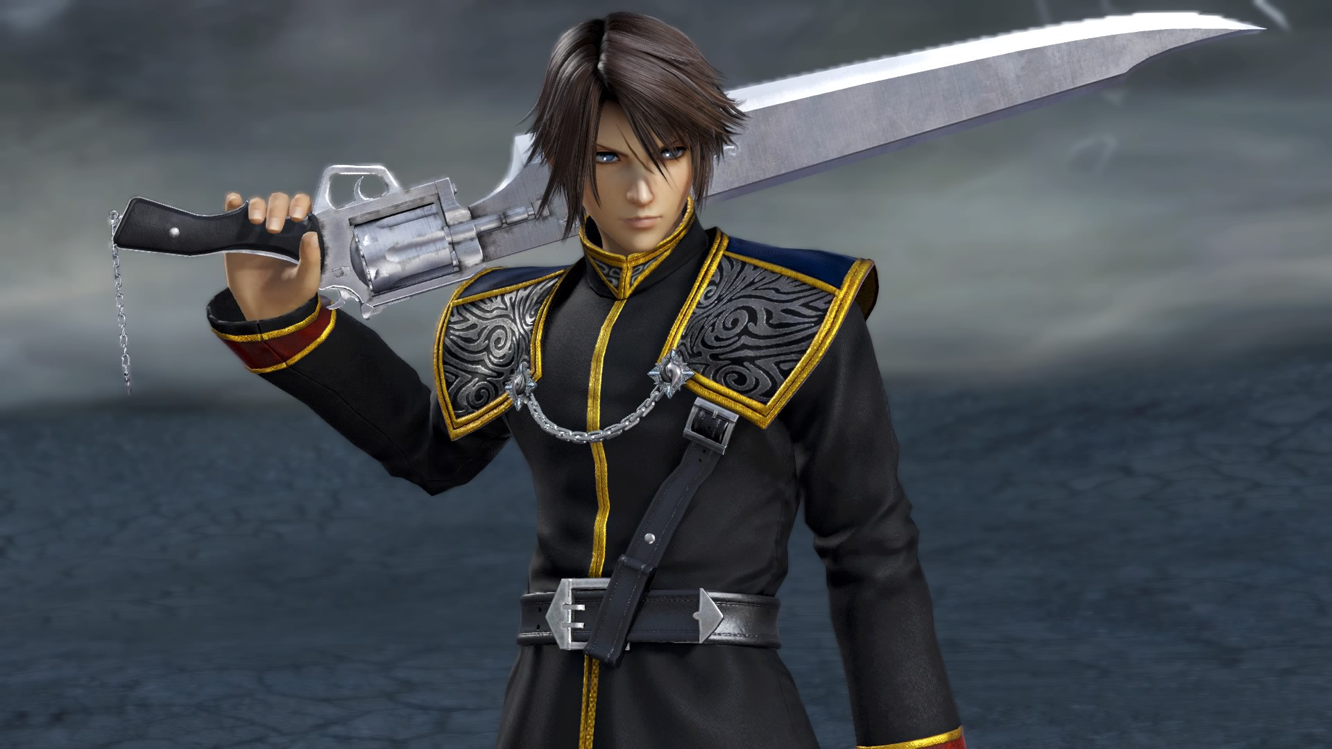 Dff Nt Seed Uniform Appearance Set For Squall Leonhart