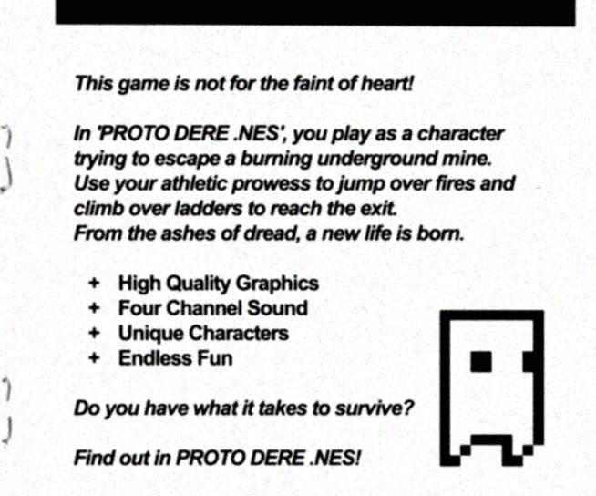 PROTO DERE .NES (NES ROM) on Steam